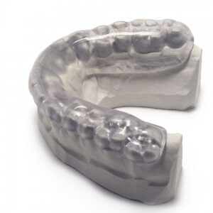 Hybrid Night Guard for Lower Teeth